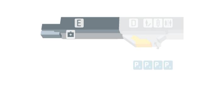 Terminal 1 module E level 3