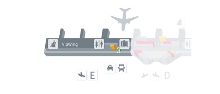 Terminal 1 module E level 4