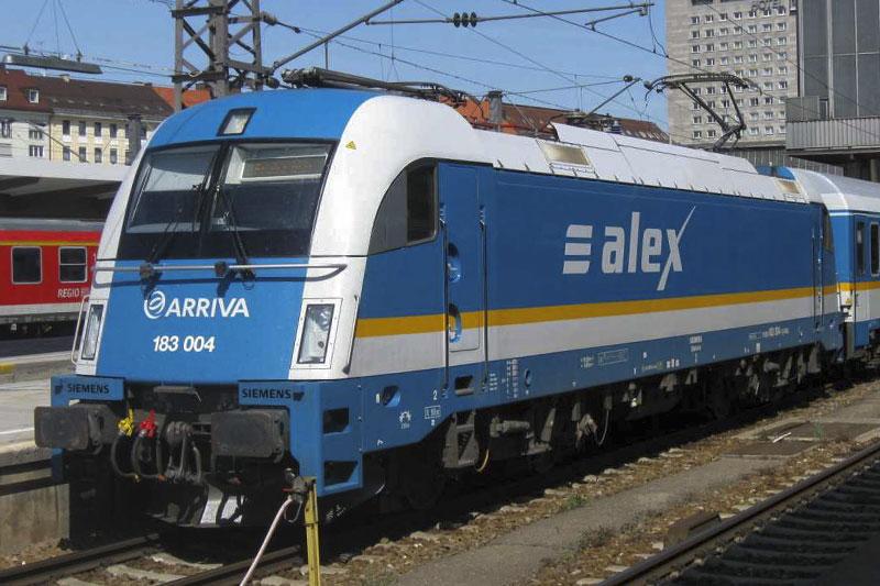 поезд Мюнхен - Прага