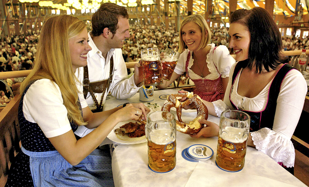 Пивной фестиваль в Мюнхене